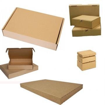 Auswahl Maxibrief Karton Post Warensendung Päckchen Versand 180 x 130 x 45 mm